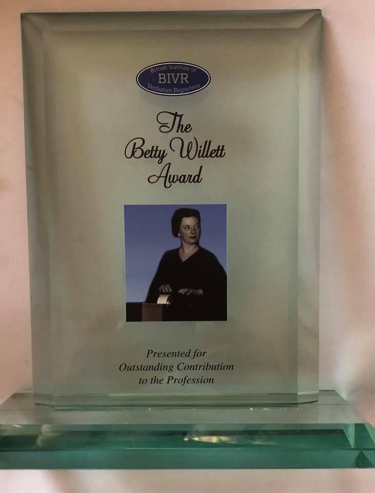 The Betty Willett Award